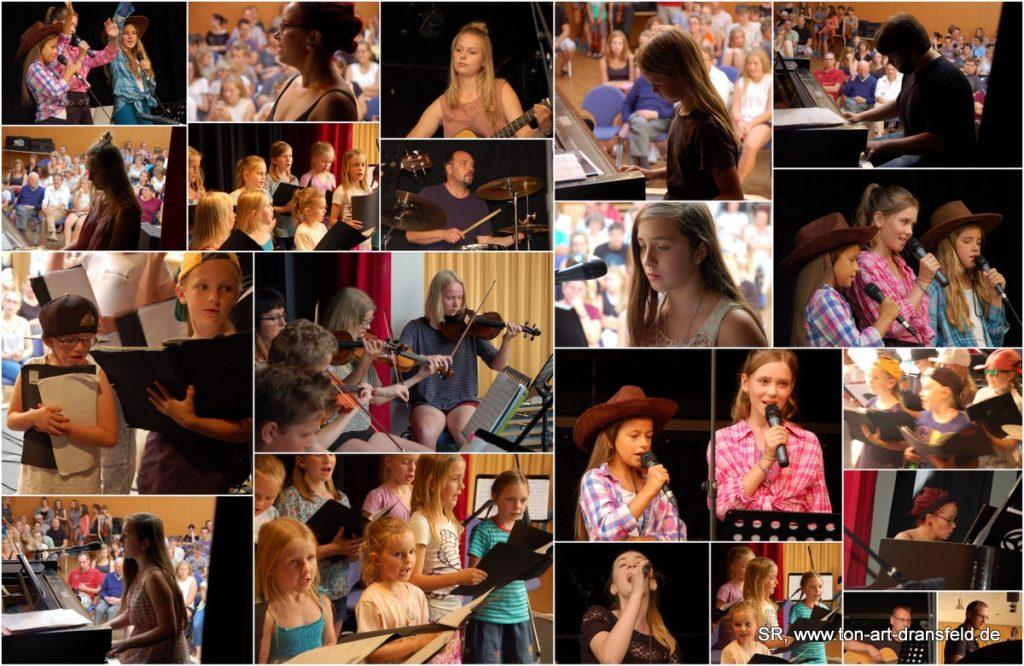 Schülerkonzert ton-art Musikschule, 22.04.2018, Stadthalle Dransfeld