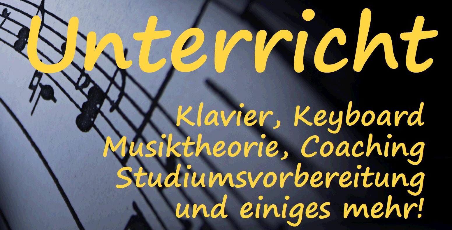 Musikunterricht in Dransfeld – Klavier, Keyboard, Theorie und mehr – alle Neuigkeiten