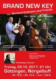 Brand New Key – CD-Release, 20.10.2017, Nörgelbuff Göttingen
